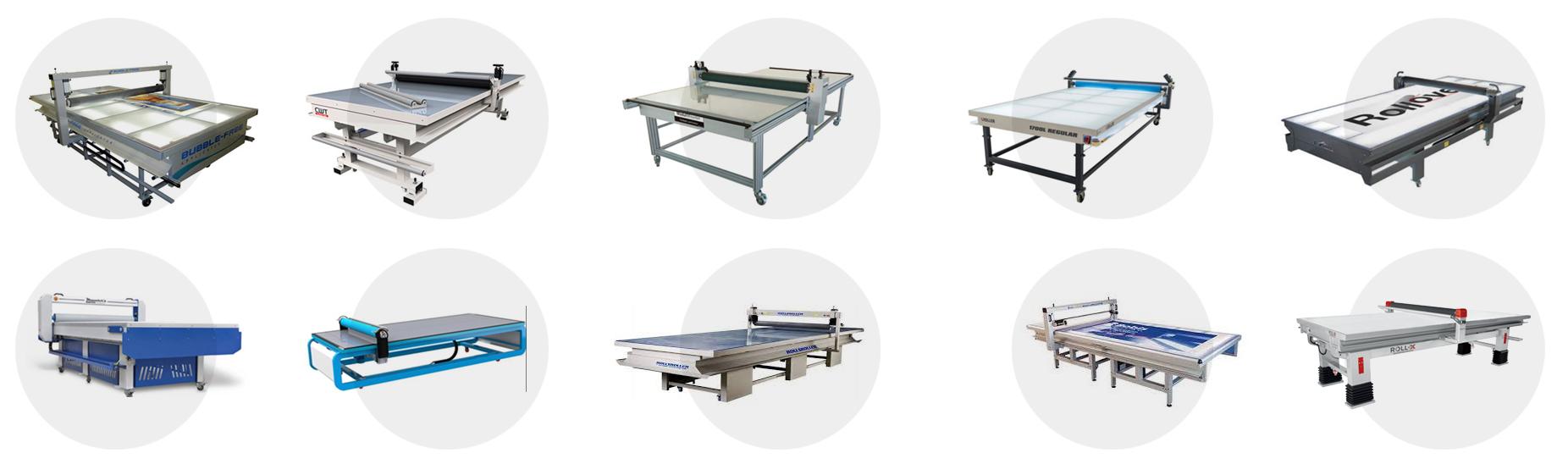 Overzicht Applicator Table